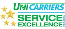 UniCarriers Service Excellence award for Forklift Systems