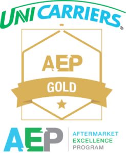 Forklift Systems wins 2015 UniCarriers Gold AEP Service Excellence award