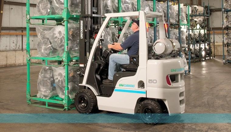 UniCarriers AF50LP Nomad Series Manufacturing Forklift