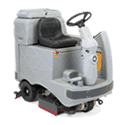 Used floor care equipment