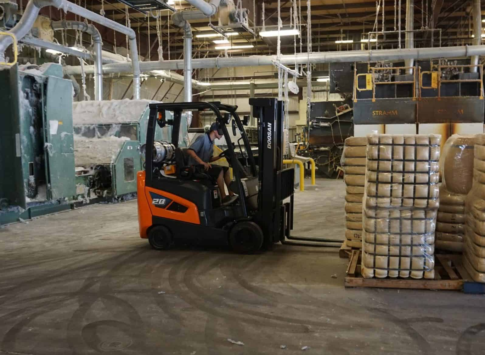 Doosan GC20 Cushion Forklift
