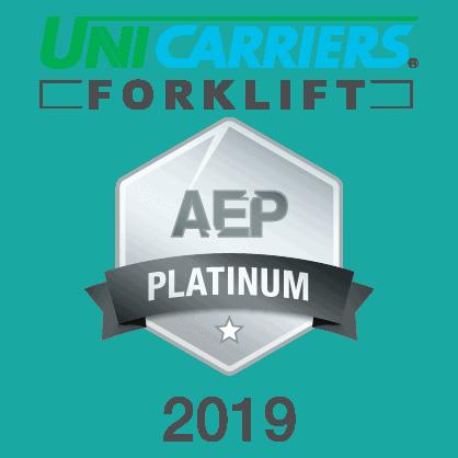 Forklift Systems Wins AEP Platinum Forklift Service Award