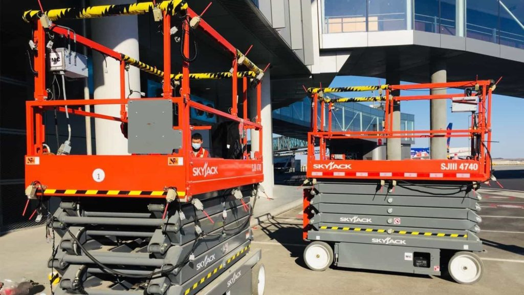 JLG launches new scissor lifts