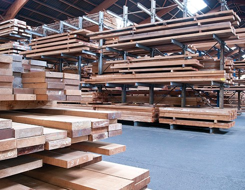 lumber and wood inventory