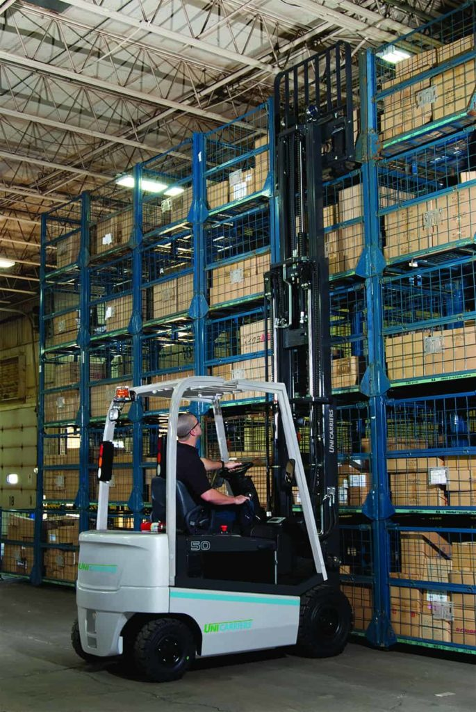 UniCarriers 5K Electric Pneumatic forklift