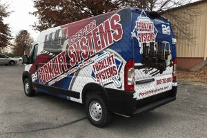 New Forklift Systems Service and Repair Van